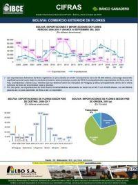 Bolivia: Comercio Exterior de Flores