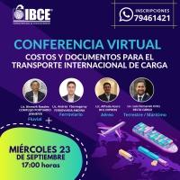 CONFERENCIA VIRTUAL: Costos y Documentos de Transporte Internacional