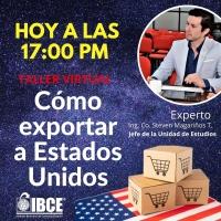 Taller Virtual: Cómo exportar a Estados Unidos / Hoy a las 17:00