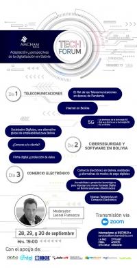 TECH FORUM – Adaptación y perspectivas de la digitalización en Bolivia