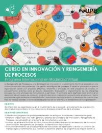 UPB: Curso en Innovación y Reingeniería de Procesos