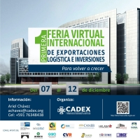 Primera Feria Internacional Virtual de Exportaciones, Logística e Inversiones: