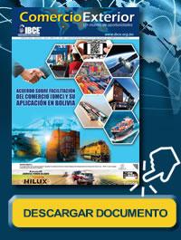 Acuerdo sobre Facilitación del Comercio (OMC) y su Aplicación en Bolivia