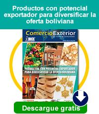 Productos con potencial exportador para diversificar la oferta boliviana