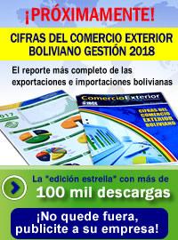 CIFRAS BOLIVIA 2018 ¡No quede fuera, publicite a su empresa!
