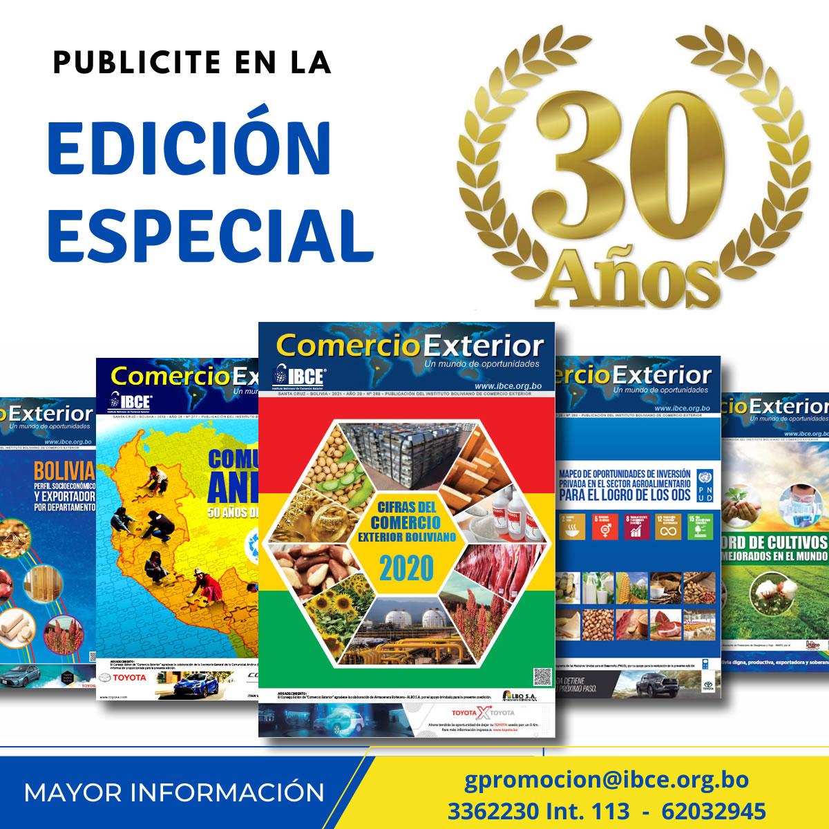 30 Años - Periódico Comercio Exterior - IBCE