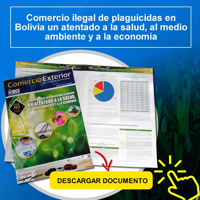 ¡DESCARGA GRATIS! Comercio ilegal de plaguicidas en Bolivia un atentado a la salud, al medio ambiente y a la economía