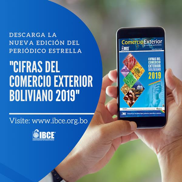 Cifras del Comercio Exterior Boliviano 2019