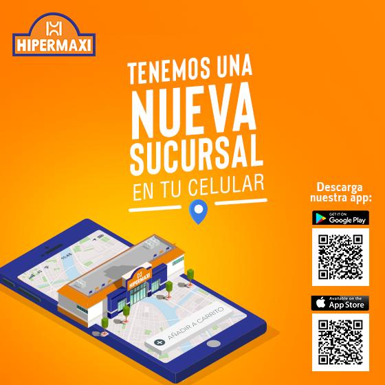 Hipermaxi: Tenemos nueva sucursal en tu celular