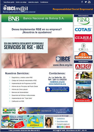 Boletín IBCEmail Cursos y Eventos