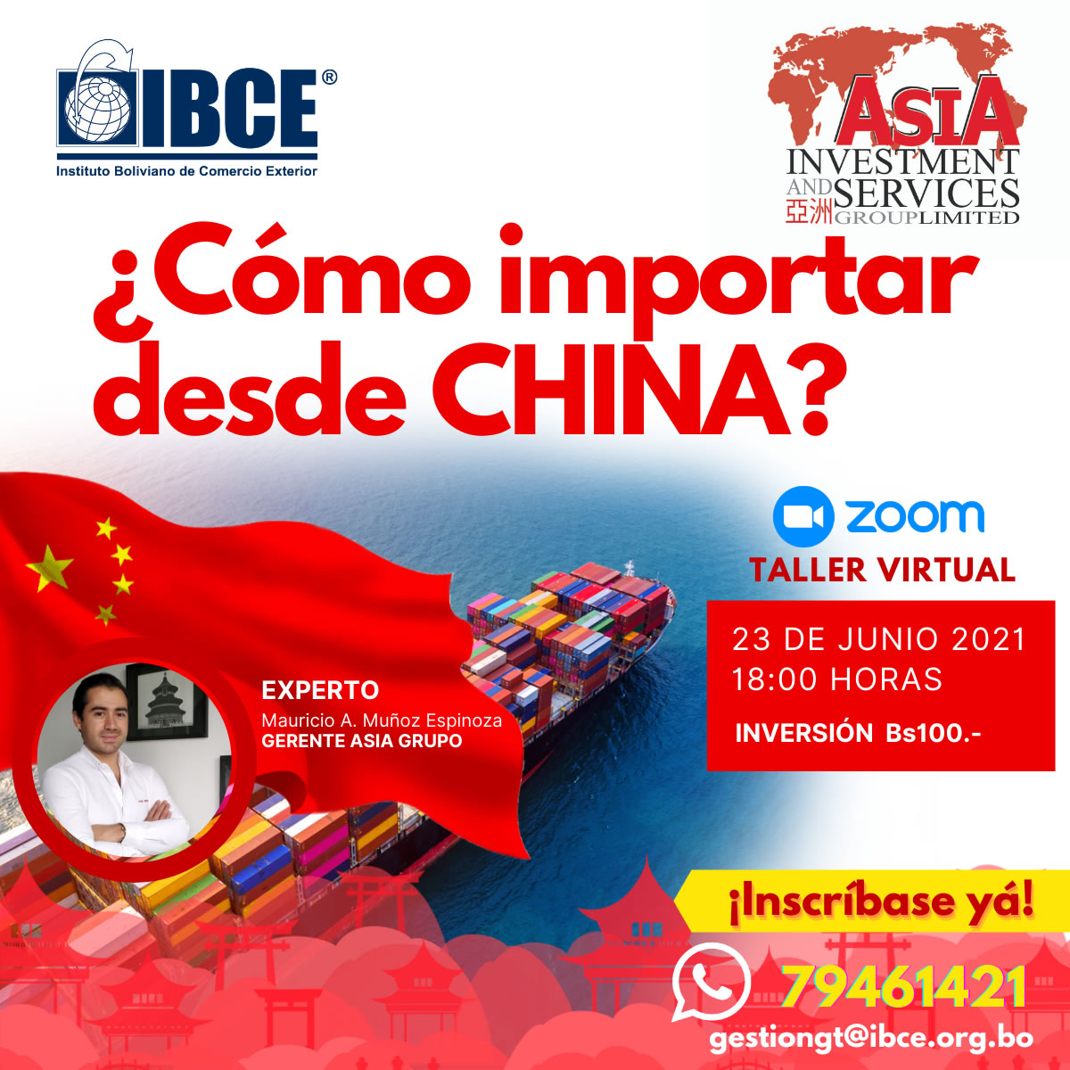 Taller Virtual: Cómo importar desde China