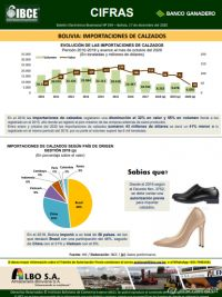 Bolivia: Importaciones de calzados