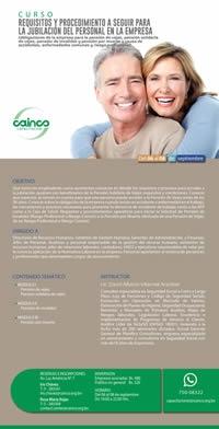 Curso: Requisitos y procedimiento a seguir para la jubilación del personal en la empresa