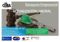 Desayuno Empresarial: Actualización Laboral