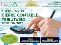 Curso-Taller: Cierre Contable Tributario Gestión 2017