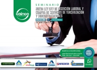 Seminario: Nueva Ley 977 de Inserción Laboral y Compra de Servicios de Tercerización y Subcontrataciones