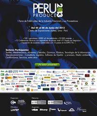 Feria Especializada en Proveedores a la Industria - PERU PRODUCE 2013