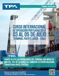 Curso Internacional de Operación Portuaria 2013
