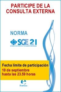 Forética te invita a participar en la consulta externa de la norma SGE 21