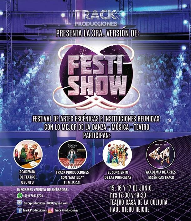 FESTISHOW - Música, Canto, Teatro y Danza - 15, 16 y 17 de junio