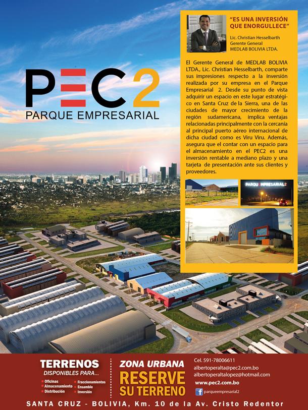 PEC2 PARQUE EMPRESARIAL - Reserve su terreno