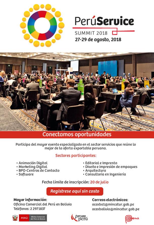 Perú Service Summit 2018