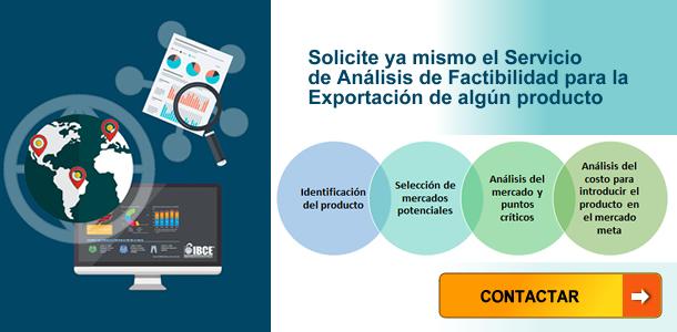 Servicio de Análisis de Factibilidad de Exportación