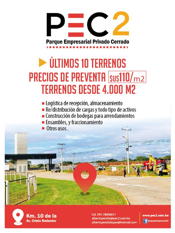 Últimos 10 terrenos disponibles en PEC2 ¡Aproveche los precios de preventa!