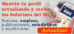 Actualizar Perfil de Suscripción - Boletines IBCE
