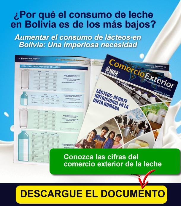 ¿Por qué el consumo de leche en Bolivia es de los más bajos de la región?