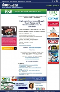 Diplomado Supply Chain Management - Certificación Internacional