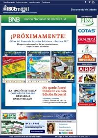 PRÓXIMAMENTE: Cifras del Comercio Exterior Boliviano - Gestión 2017