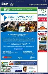 Perú Travel Mart - Del 27 al 30 de abril de 2018
