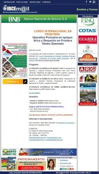 Curso Internacional en Frontera Operativa Portuaria en Iquique-Arica y Despacho en Frontera Tambo Quemado
