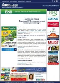 Exposoya 2018 muestra avances tecnológicos del agro