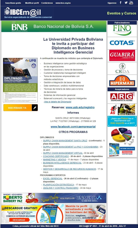 UPB Diplomado en Business Intelligence Gerencial