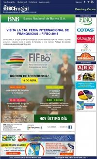 VISITA LA 5TA. FERIA INTERNACIONAL DE FRANQUICIAS – FIFBO 2018