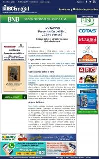 Presentación del libro de Henry Oporto: ¿Cómo somos? Ensayo sobre el carácter nacional de los bolivianos