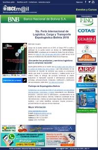 Expologística Bolivia 2018 - 5ta. Feria Internacional de Logística, Carga y Transporte