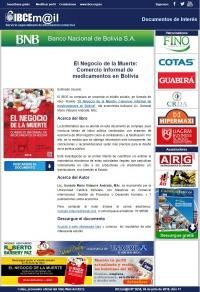 El Negocio de la Muerte: Comercio informal de medicamentos en Bolivia