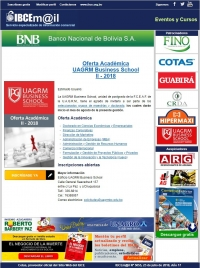 Oferta Académica - UAGRM Business School II - 2018
