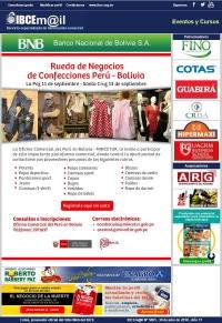 Rueda de Negocios de Confecciones Perú - Bolivia 2018