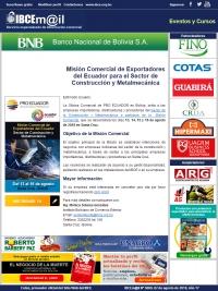 Misión Comercial de Exportadores del Ecuador para el Sector de Construcción y Metalmecánica