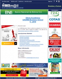 Oferta Académica II-2018 / UAGRM Business School