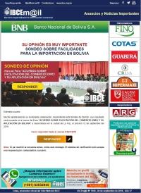 SONDEO SOBRE FACILIDADES PARA LA IMPORTACIÓN EN BOLIVIA