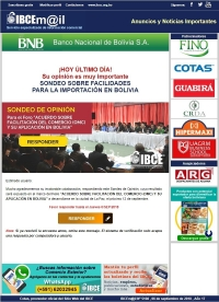 ¡HOY ÚLTIMO DÍA! Participe del Sondeo sobre Facilidades para la Importación en Bolivia