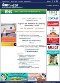 Experto en: Sistemas de Control y Gestión de Costos