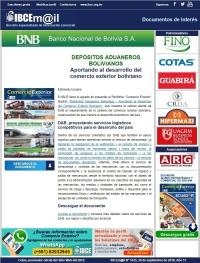Depósitos Aduaneros Bolivianos: Aportando al desarrollo del comercio exterior boliviano