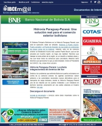 Hidrovía Paraguay-Paraná: Una solución real para el Comercio Exterior Boliviano