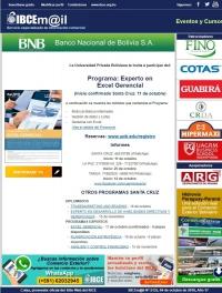 Programa: Experto en Excel Gerencial ¡Inicio confirmado Santa Cruz 11 de octubre!